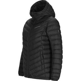 Peak Performance Frost Daunen Kapuzenjacke Damen black